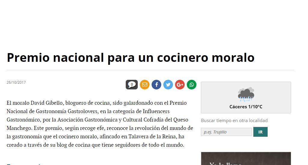 El periodico de Extremadura, Premio nacional