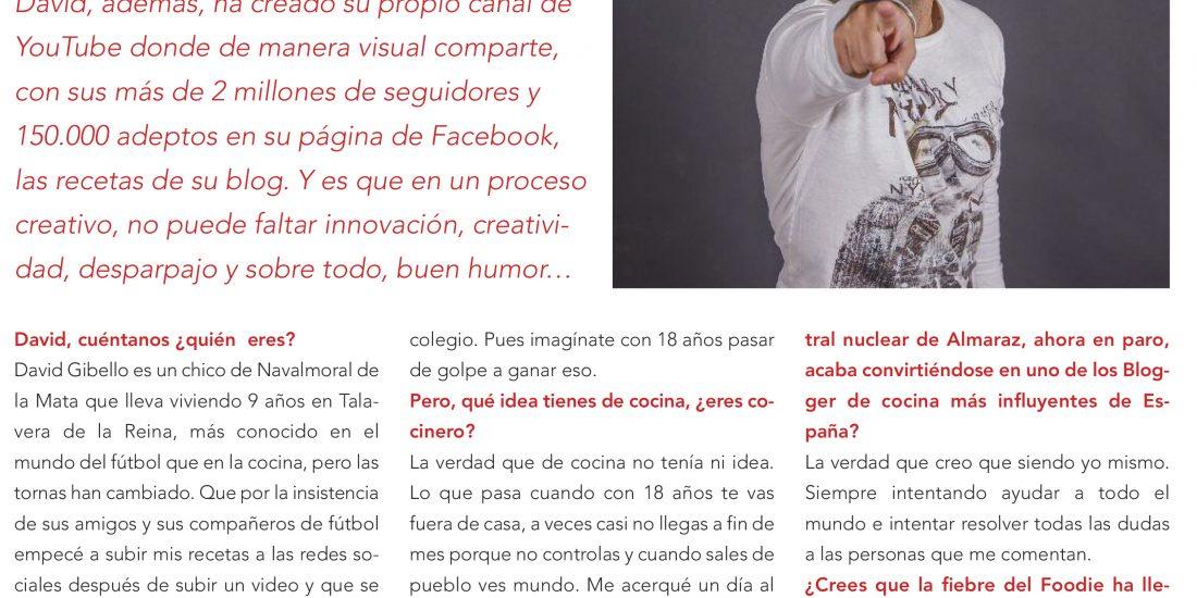 Entrevista, David Gibello Talavera
