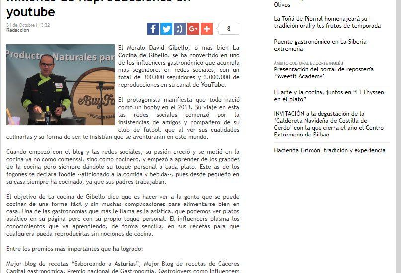 El correo Extremadura, 3 millones de reproducciones