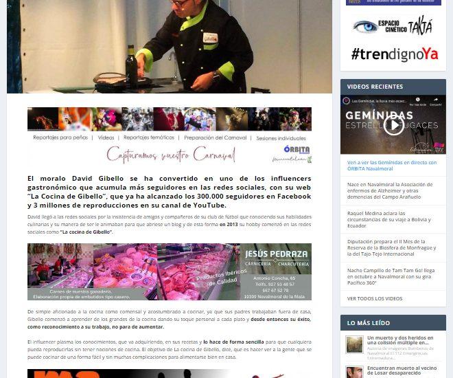 Orbita Navalmoral, nominado premios Gastrolovers