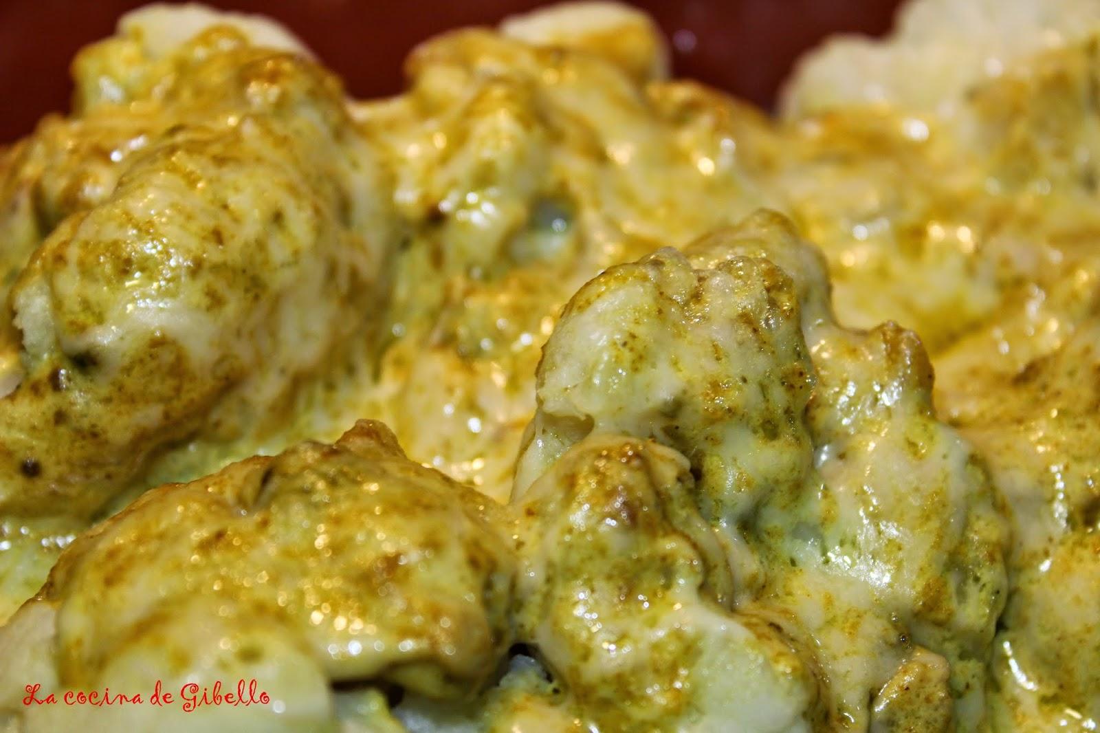 Coliflor Al Curry La Cocina De Gibello