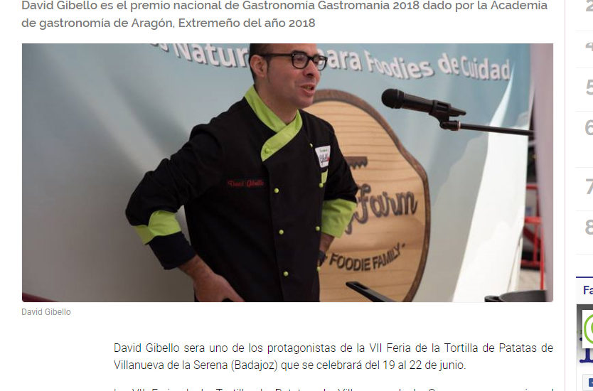 EnterateExtremadura. Feria de la Tortilla de patata Villanueva de la serena