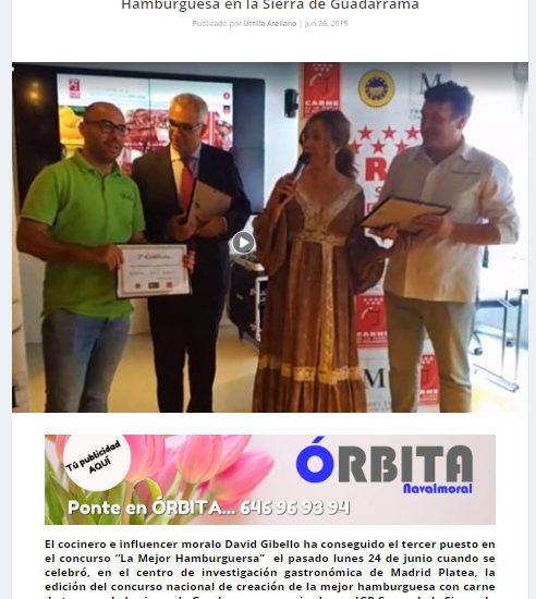 Orbita Navalmoral, campeonato de hamburguesas