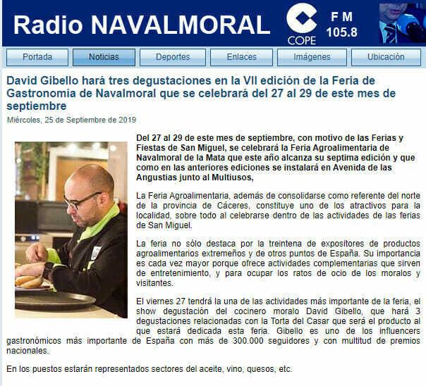 Radio Navalmoral, Feria agroalimentaria Navalmoral 2019