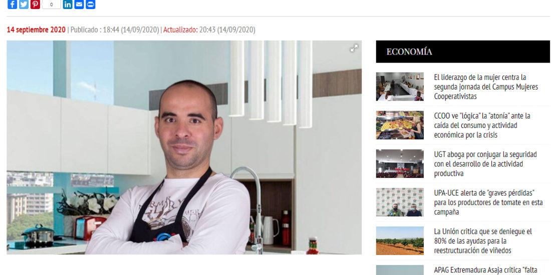 David Gibello foro alimentario responsable Región digital